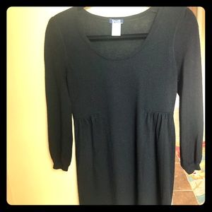 Splendid pure cashmere black tunic
